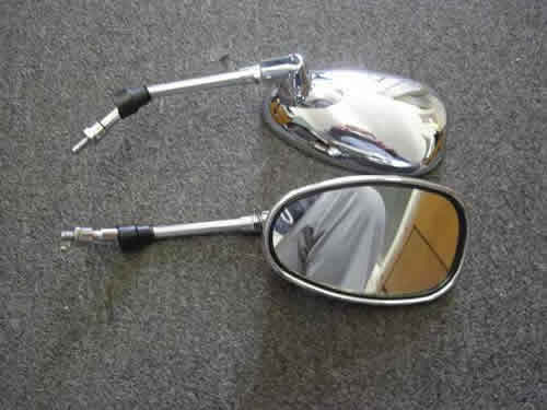 Chrome Rear Mirrors -1631