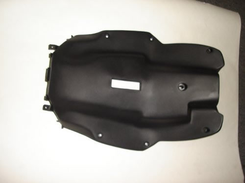 Black Plastic Foot Guard Trition r4 Scooter-503