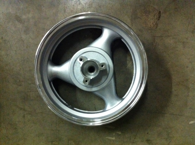 Rear Alloy Wheel, D Brake, 13 inch, Vento Phantom Style Scooter -788