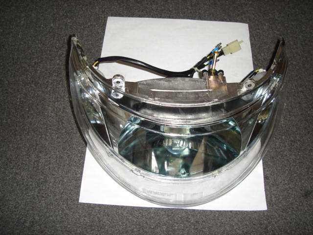 Front Headlight Assembly Vento Zip R3I GMI 109-1940