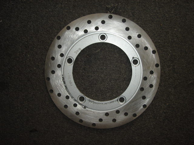 Front or Rear Disc Rotor-2102