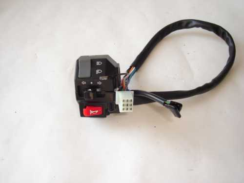 Left Handle control module 250cc-300cc-1714