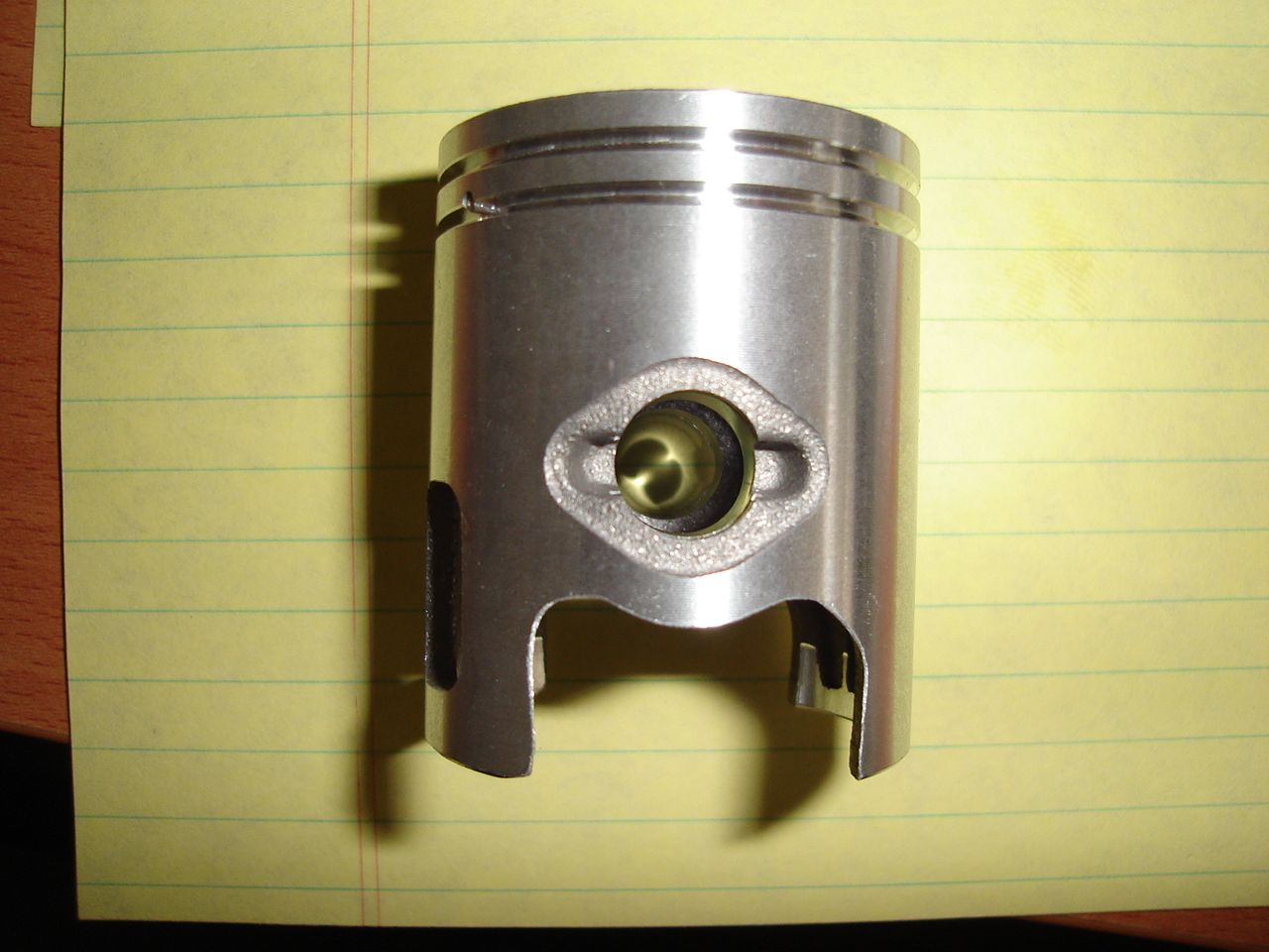39mm Piston with 10mm Wrist Pin 1E40QMB Minerelli Style Engine-656
