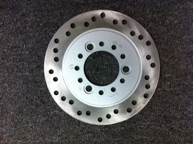 GMI 402 Front Disc Brake Rotor-Item 2386