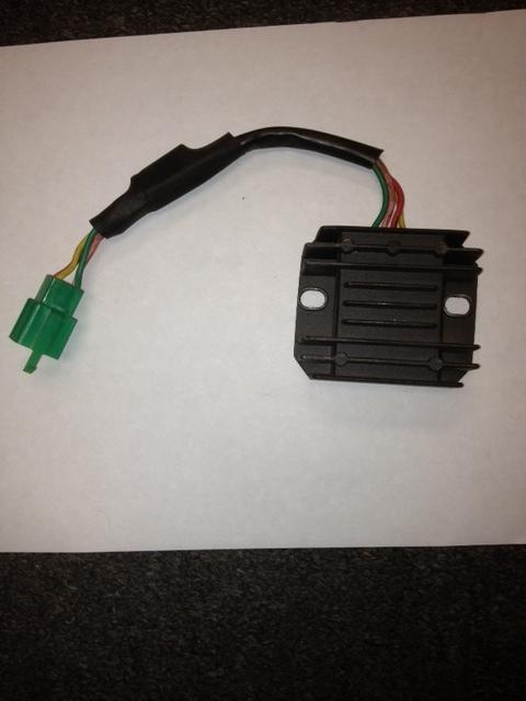 motor scooter moped parts atv voltage regulator 2433