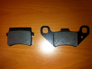ATV Brake Pad Item 2437