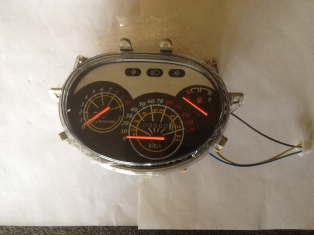 Speedometer Assembly w/tachometer-2738