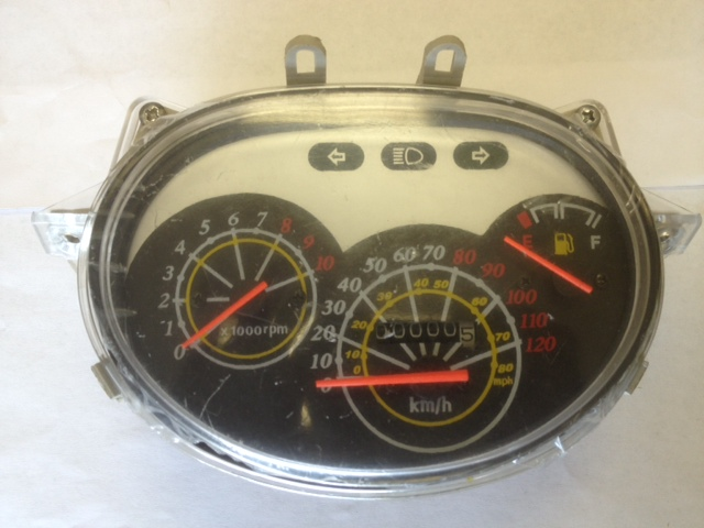 Speedometer Assembly w/Tachometer MT-2 Scooter-888
