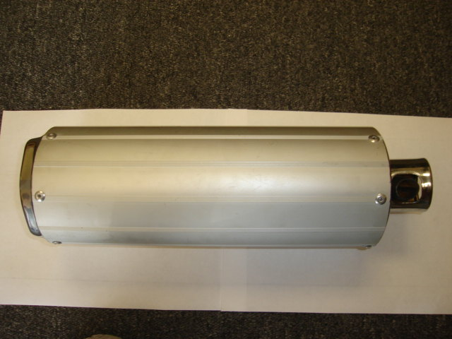 Silverstone Exhaust Short Cannister-2135