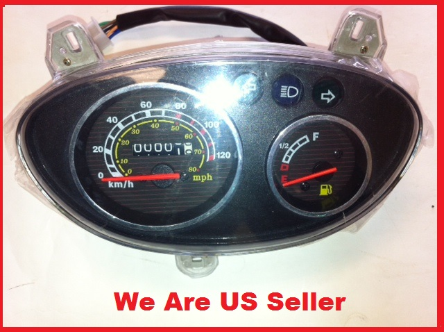 Speedometer Assembly Large Retro Scooter-936