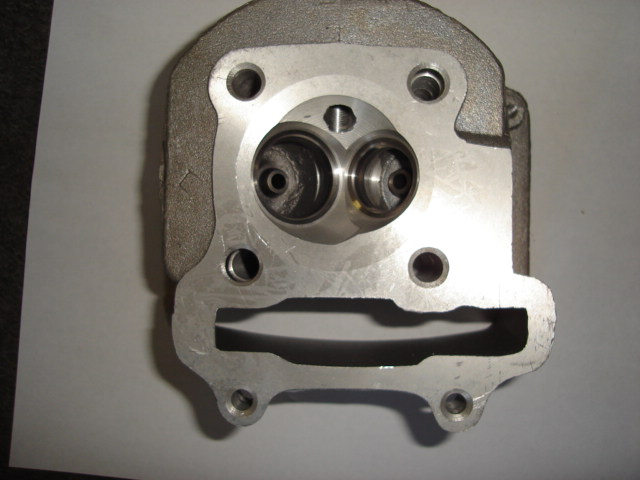Cylinder Head (58mm) GY6 Engine, No Valves-1814