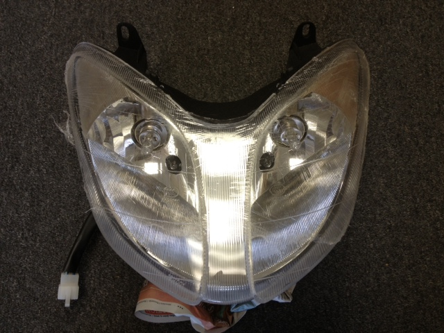 Front Headlight Assembly Phantom Style 150cc Scooter-1087