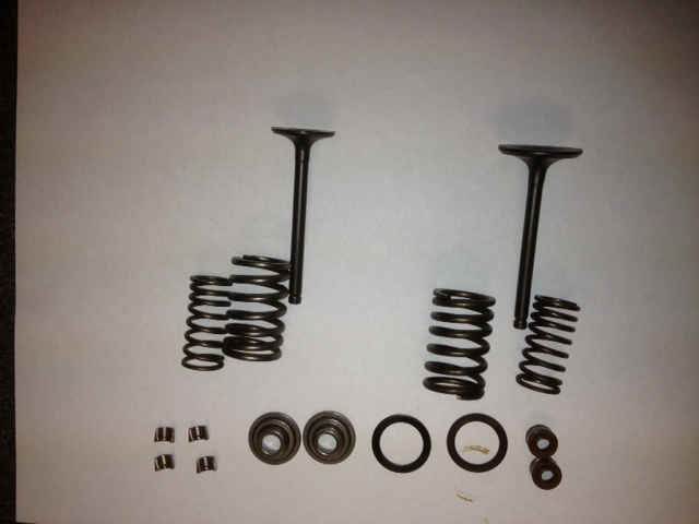 Intake and Exhaust set Item 2482