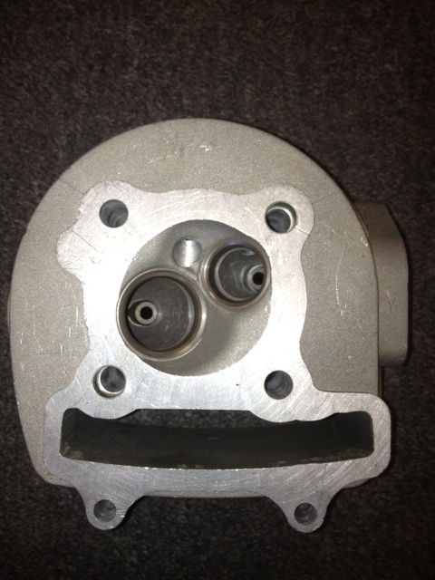 150cc Larger QJ Cylinder Head without Valves-1193