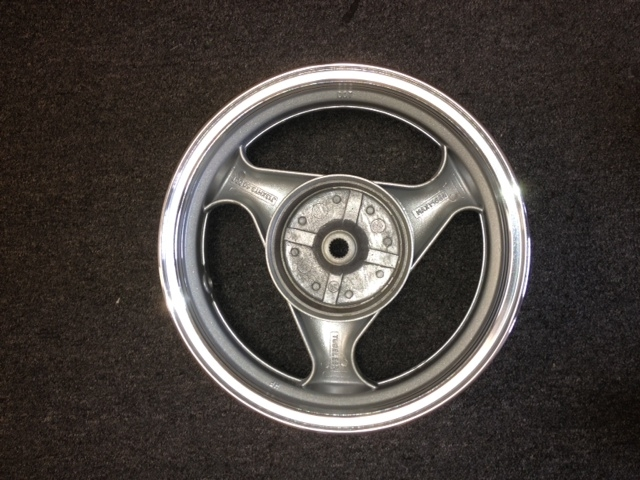 Rear alloy wheel 13 inch 150cc Vento Phantom GMI 406 -1608