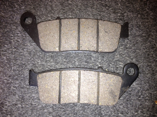 Front or Rear Brake pads-2608