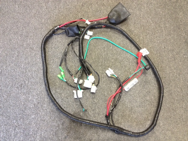 250cc-300cc Wiring harness-2628 on ap wire, provo wire, ss wire, category 3 wire, uf wire,