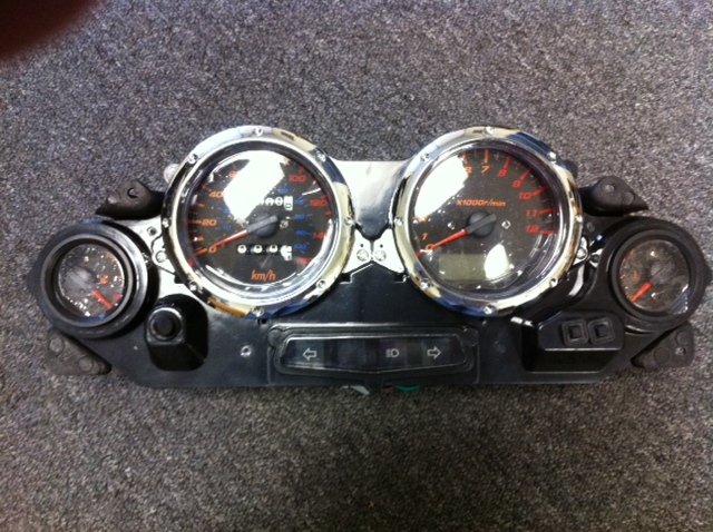 MC-54B Speedometer Item 2317