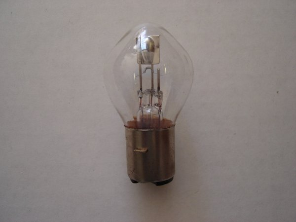 35Watt 12 Volt Scooter Headlight Bulb-580
