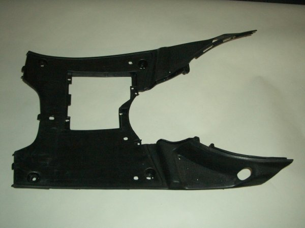 Black Plastic Scooter Floorboard GMI 104-148