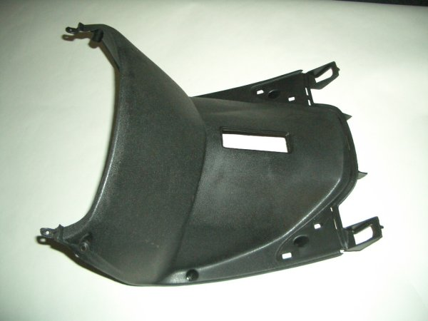 Black Plastic Scooter Lower Leg Shield GMI 104-155