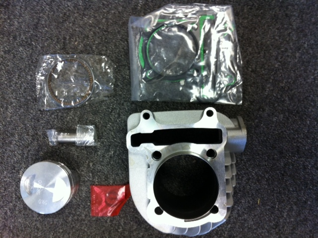 160cc Top End Upgrade Kit Item 2463