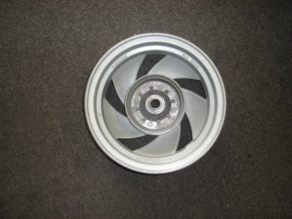 Rear Alloy Wheel, Drum Brake, MT-2 Scooter-776